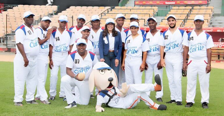 Equipo de Beep Béisbol, Huracanes del Caribe